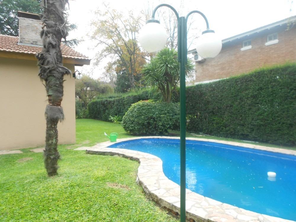 mapuche country club - casa 3 amb. con piscina