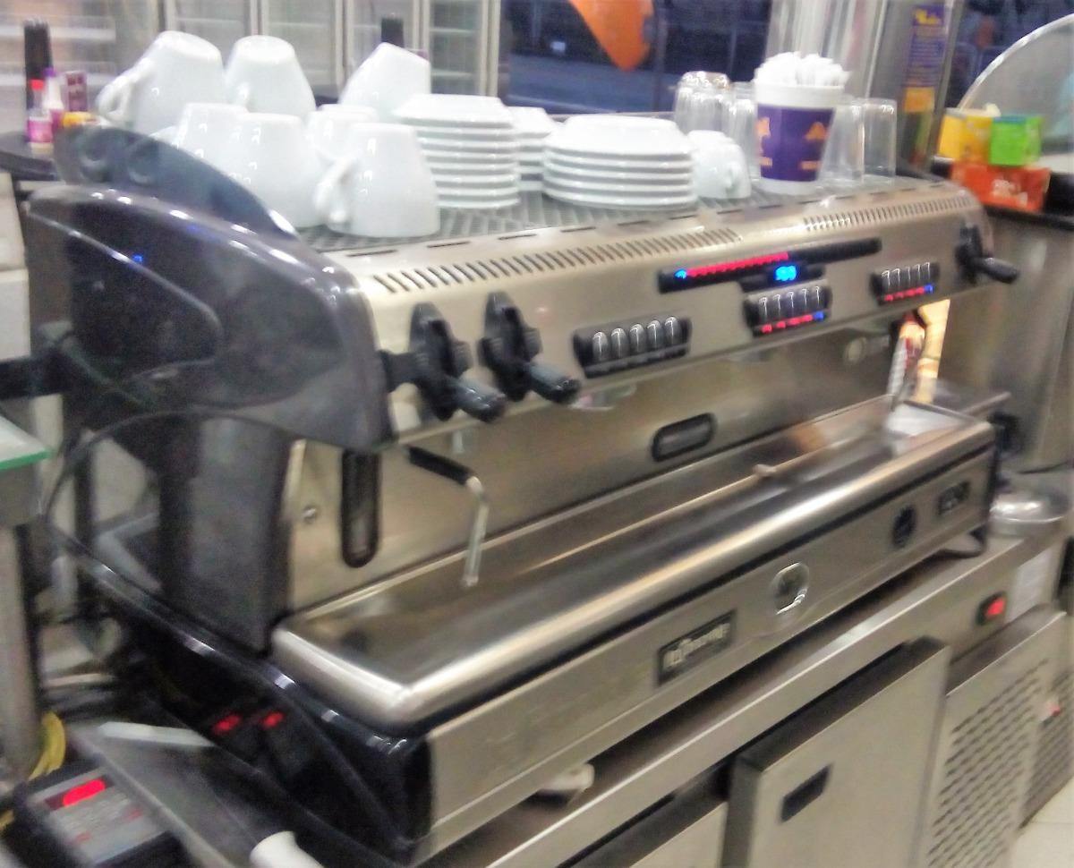 maq de cafe expresso la spaziale s5 ek ta 3g moinho eletr r em mercado livre. Black Bedroom Furniture Sets. Home Design Ideas