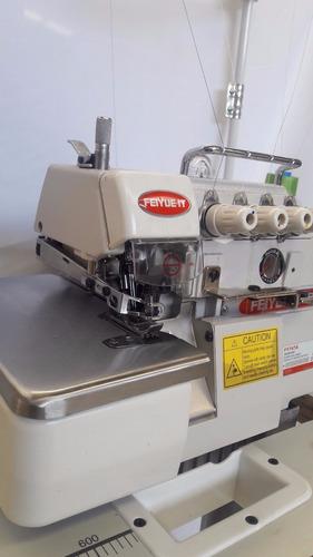 maq overlock industrial costura  4 hilos nueva oferta clutch