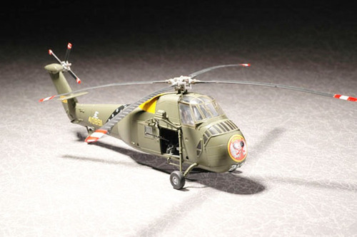 maqueta 1:72 helicoptero uh34d vietnam