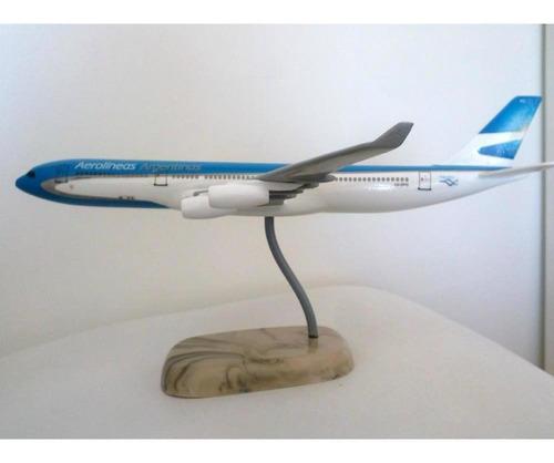 maqueta airbus a340 aerolineas argentinas