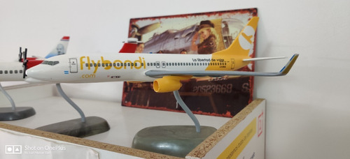 maqueta avion b737 fly bondi