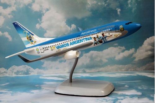 maqueta avión boeing 737 aerolineas argentinas