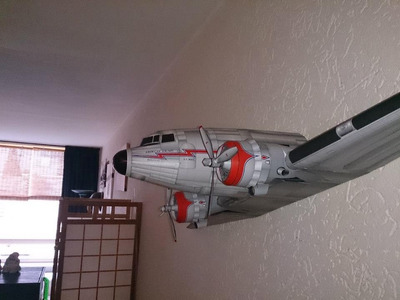 maqueta dc-3 de alan rose, unico en ml