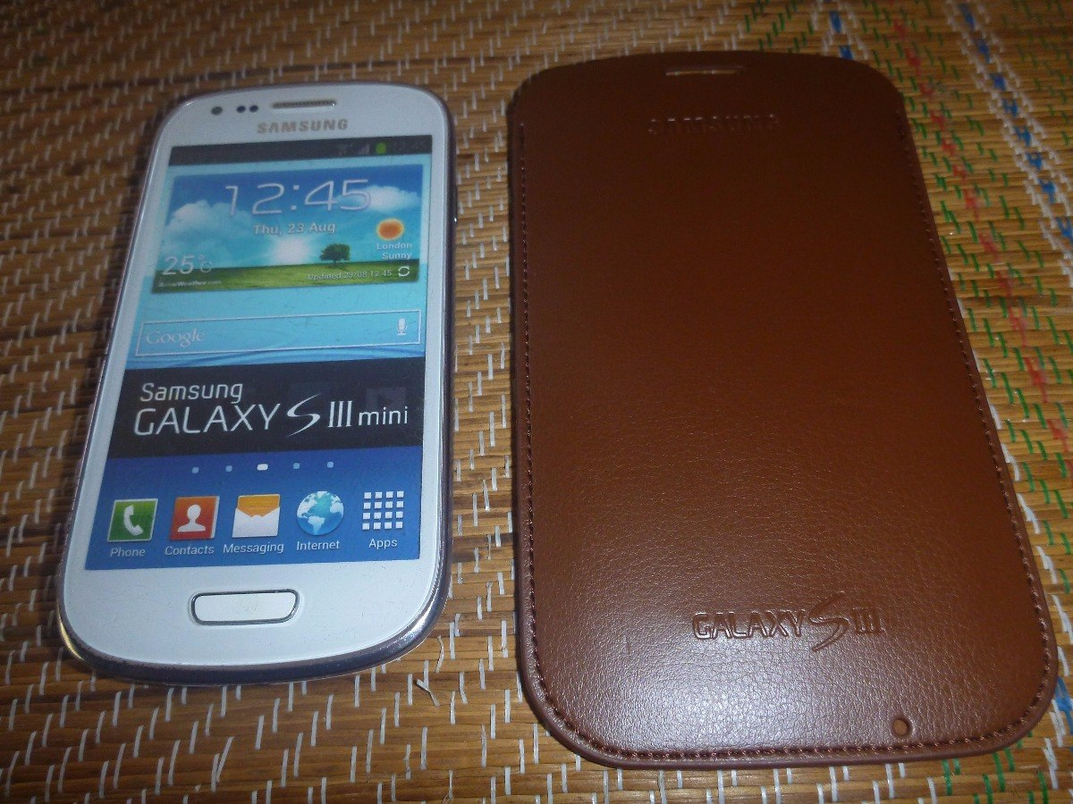 c6336006620 Maqueta De Celular Samsung Galaxy S3 Mini Con Forro - S/ 27,00 en ...