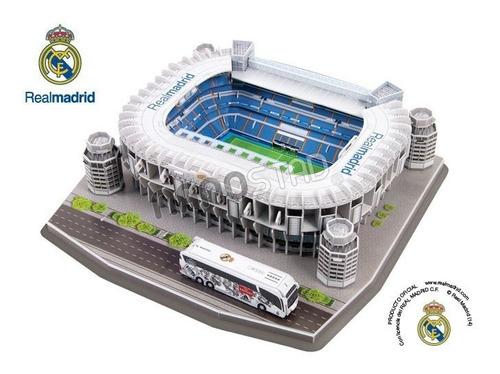 maqueta estadio 3d para armar!!! cancha fcb barcelona !!
