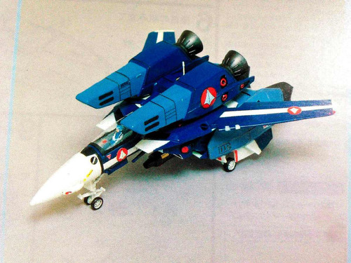 maqueta macross robotech vf-1j valkyrie super fighter 1/72 m