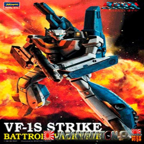 maqueta macross robotech vf-1s strike battroid valkyrie 1/72