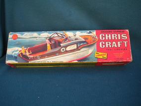 Maqueta Para Armar Chris Craft Paul Linberg Crucero Nro 700