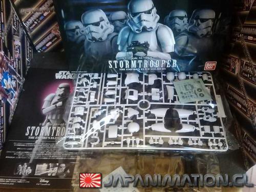 maqueta star wars stormtrooper 1/12 bandai nueva japonesa