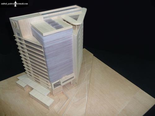 maquetas arquitectonicas, profesionales, universitarias