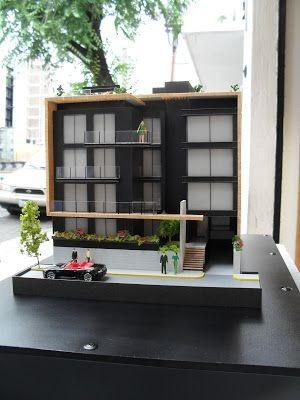 maquetas de arquitectura