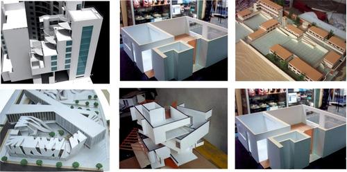 máquetas de arquitectura