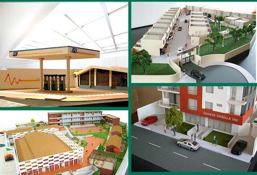 maquetas de arquitectura a nivel profesional