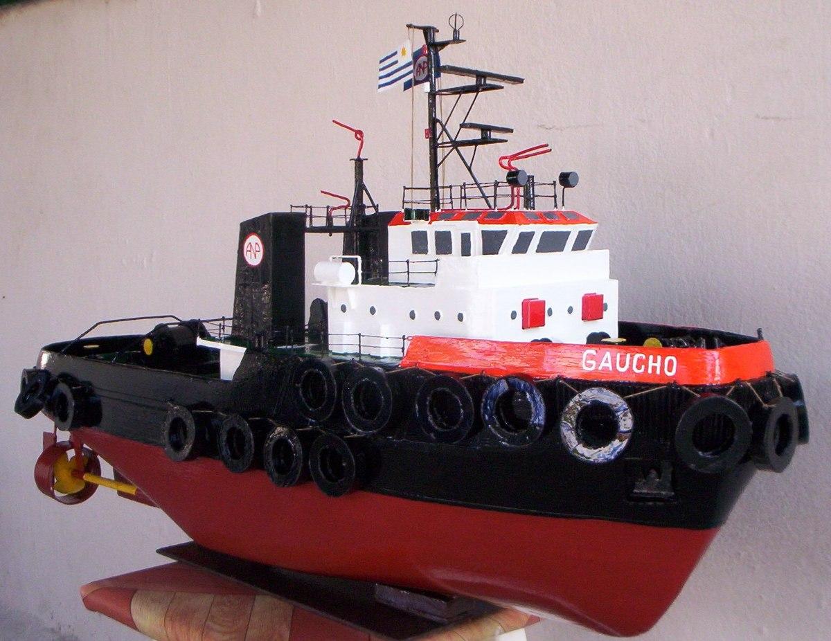 Maquetas de barcos remolcadores en mercado for Todo sobre barcos