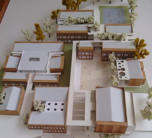 maquetas y renders profesionales - tesis arquitectura