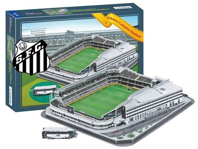 5a0f6fb0af Maquete 3d Estádio Vila Belmiro - Santos F.c Oficial Store - R  175 ...