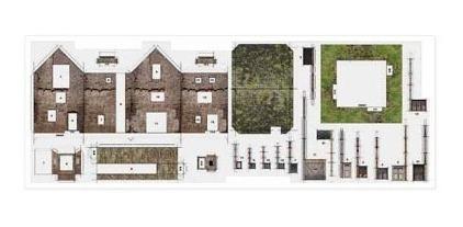 Maquete De Papel Casa De Pedra Antiga Imprimir E Montar R