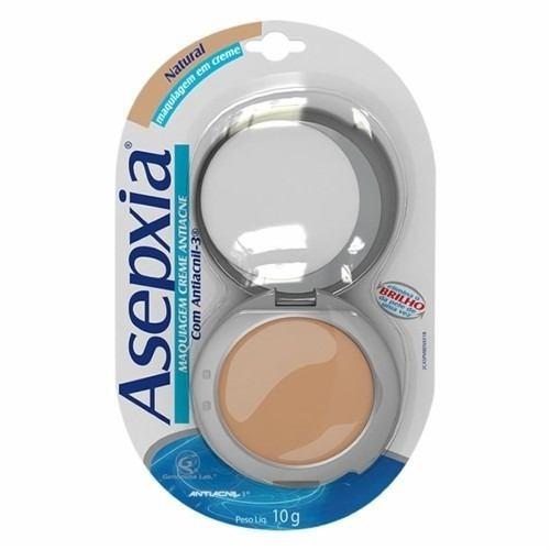 maquiagem asepxia em creme 10g