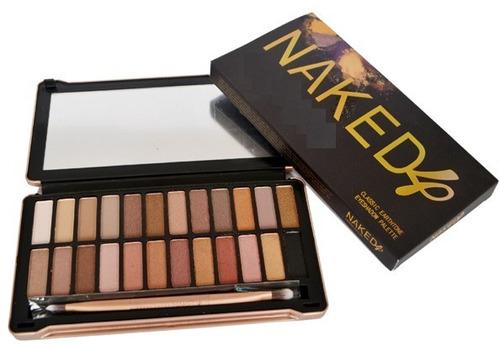 maquiagem naked modelo 1,2,3 e 4. liquidação! no brasil