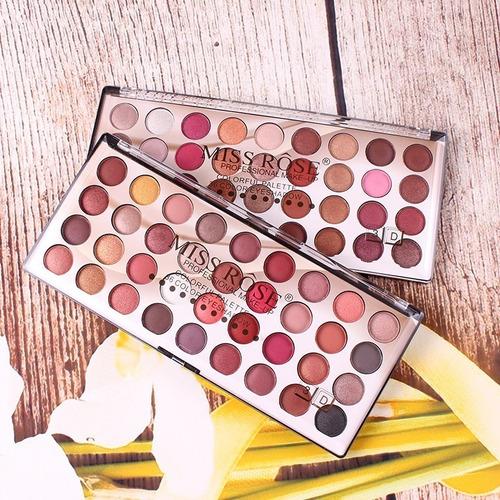 maquiagem paleta de sombras cores pigmentadas