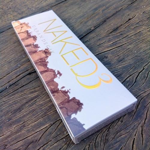 maquiagem sombra urban decay naked 3 paleta - novo original