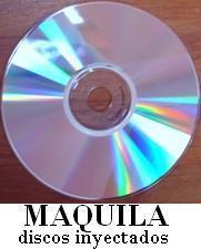 maquila de discos originales ( duplicado) grabacion de cds