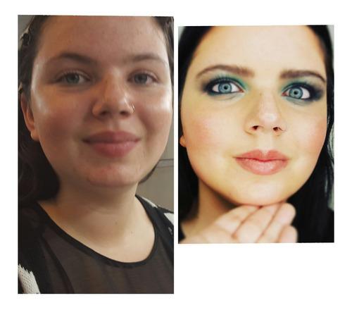 maquilladora a domicilio / clases de automaquillaje