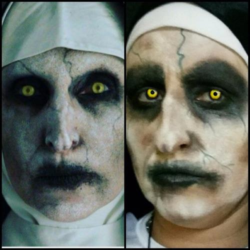 maquilladora artística efectos especiales halloween zombies