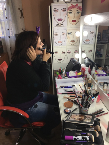 maquilladora profesional clases deautomaquillaje 095877575
