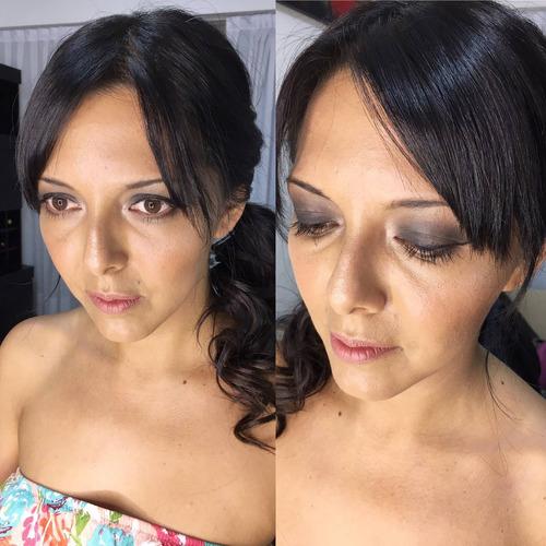 maquilladora profesional peinado a domicilio