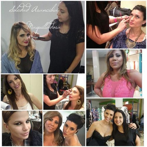 maquilladora y peinadora profesional a domicilio