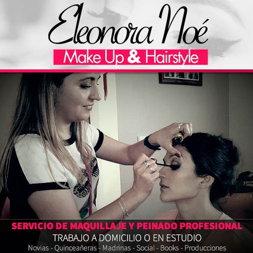 maquilladora y peinadora profesional/ automaquillaje