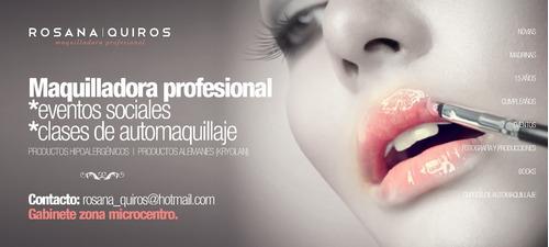 maquilladora y peinadora profesional/automaquillaje