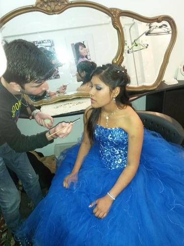 maquilladora/or prof a domicilo fiesta evento casamiento