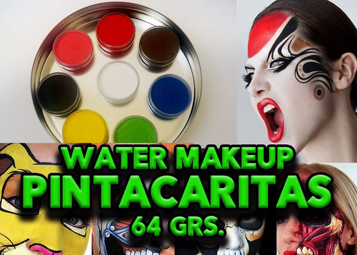 maquillaje al agua ( pintacaritas )  64 grs.
