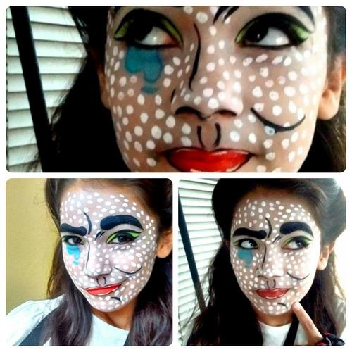 maquillaje artistico/ eventos.