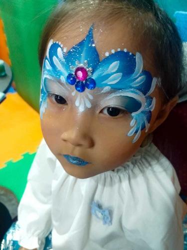 maquillaje artístico infantil