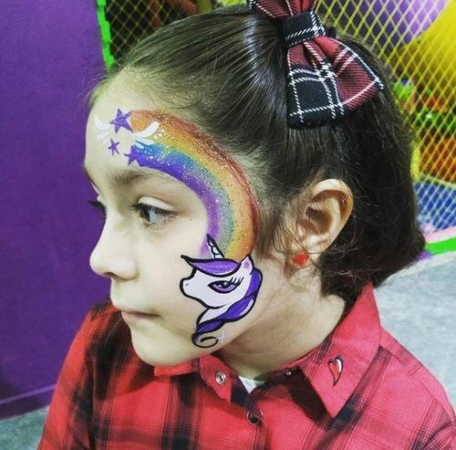 maquillaje artistico infantil a domicilio