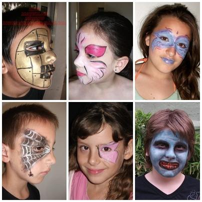 maquillaje artístico  infantil  adultos panzas embarazadas