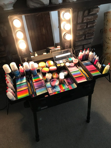 maquillaje artístico infantil fiestas