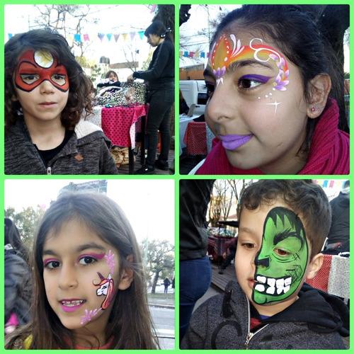 maquillaje artístico infantil y adultos. 11 3776-9723