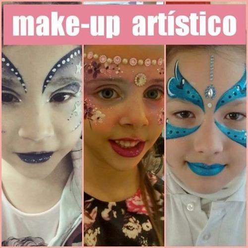 maquillaje artistico/ peluqueria artistica para eventos.