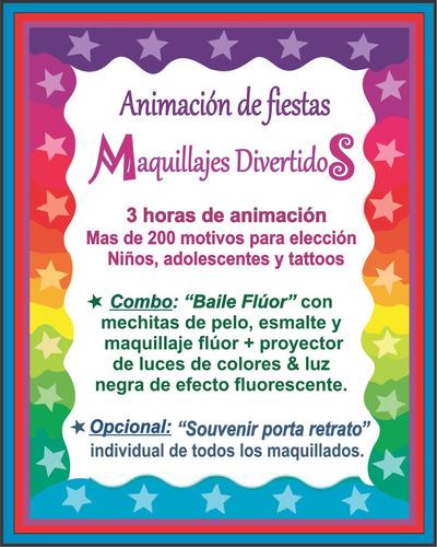 maquillaje artístico & tattoo / niños y adultos