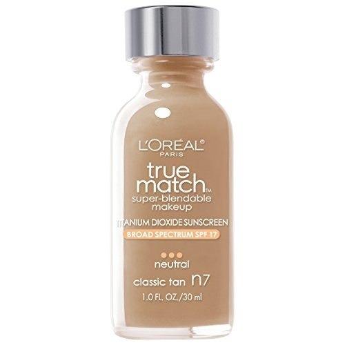 maquillaje base superdurable l'oréal paris true match, clas
