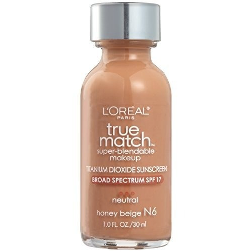maquillaje base superdurable l'oréal paris true match, hone