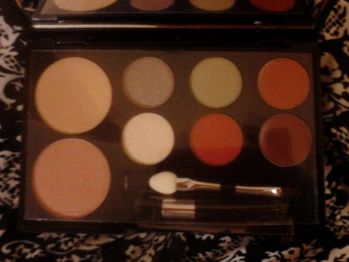 maquillaje be diva by iu paleta color4somb.2lab.1polvo comp.