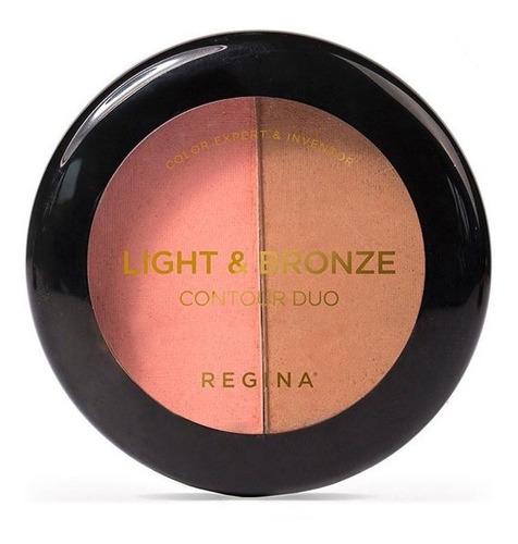 maquillaje bronce iluminador regina