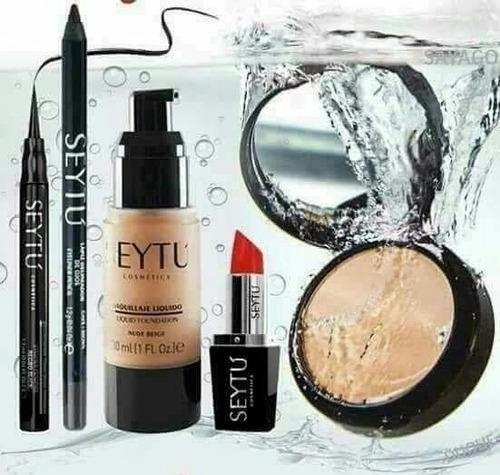 maquillaje de anti agua