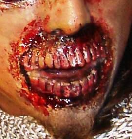 maquillaje de zombie, disfraz de zombie, paqueteb 10 kit´s
